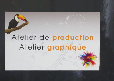 Atelier de production et atelier graphique